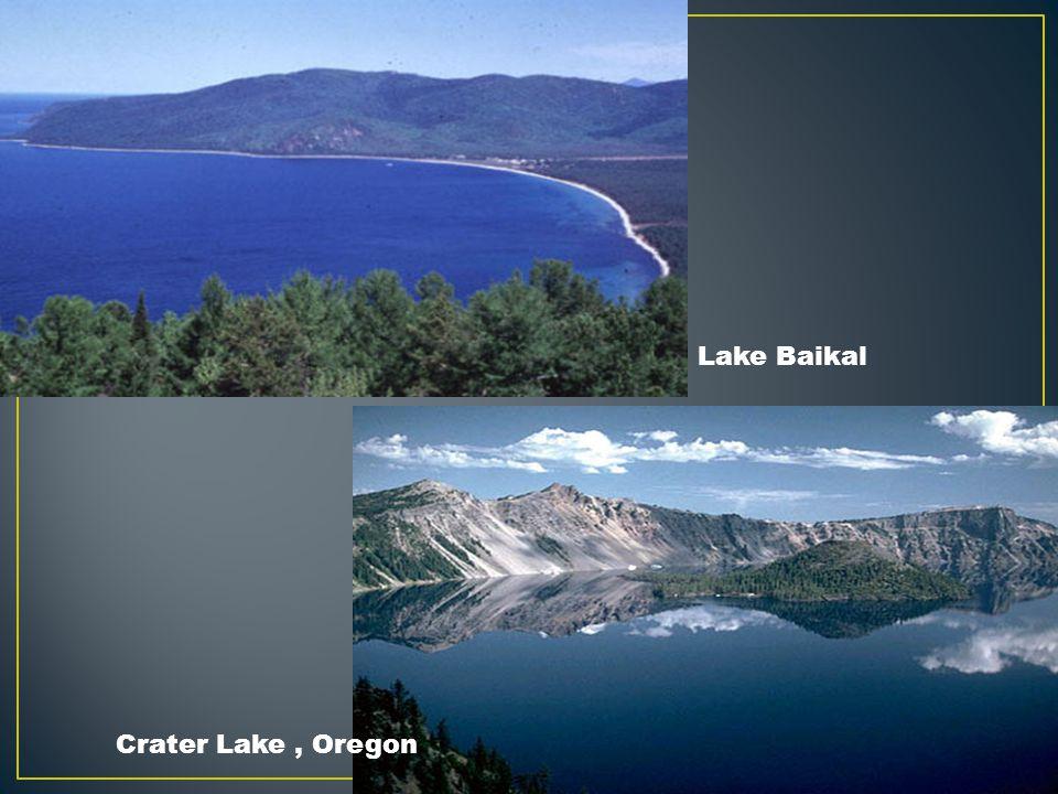 Lake Baikal Crater Lake , Oregon