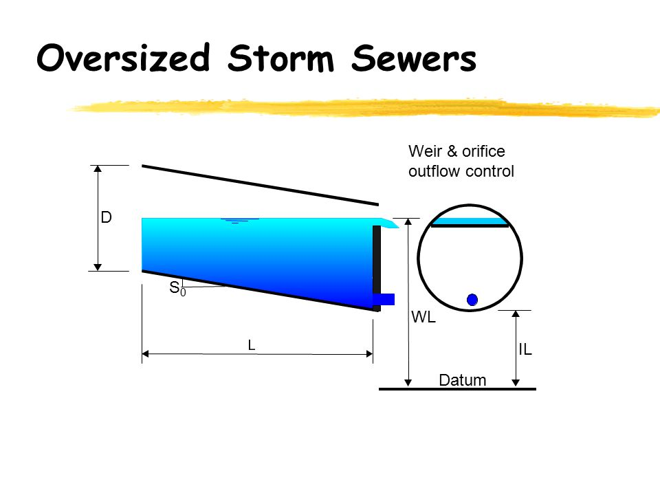 Oversized Storm Sewers