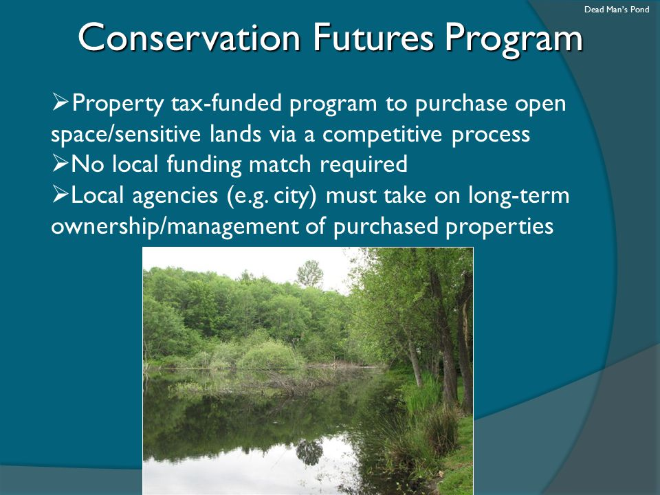 Conservation Futures Program