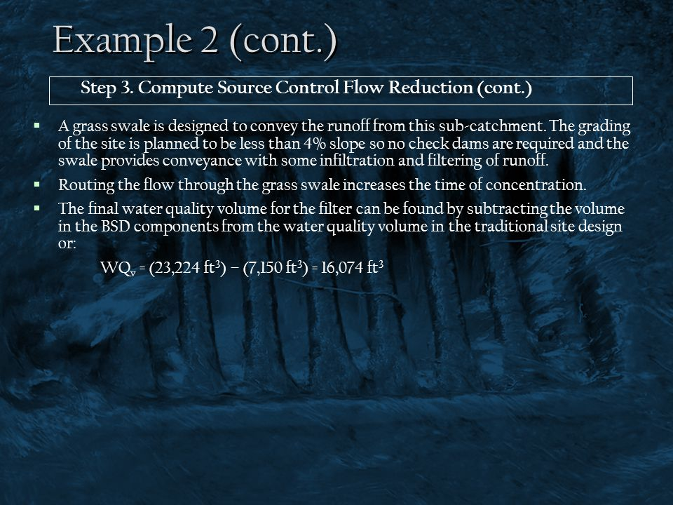 Example 2 (cont.) Step 3. Compute Source Control Flow Reduction (cont.)