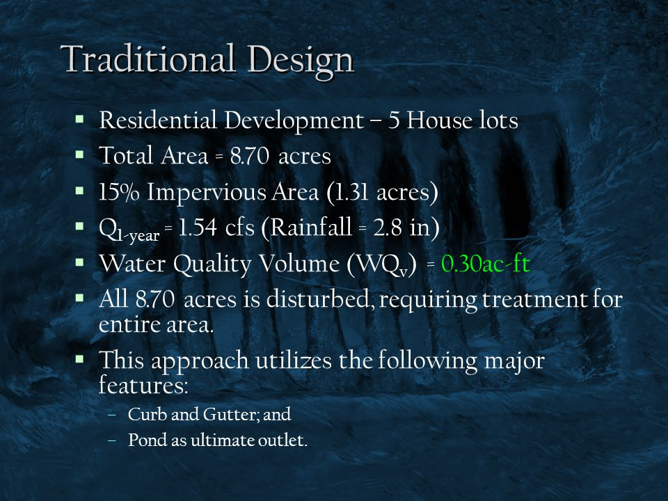 Traditional Design Residential Development – 5 House lots