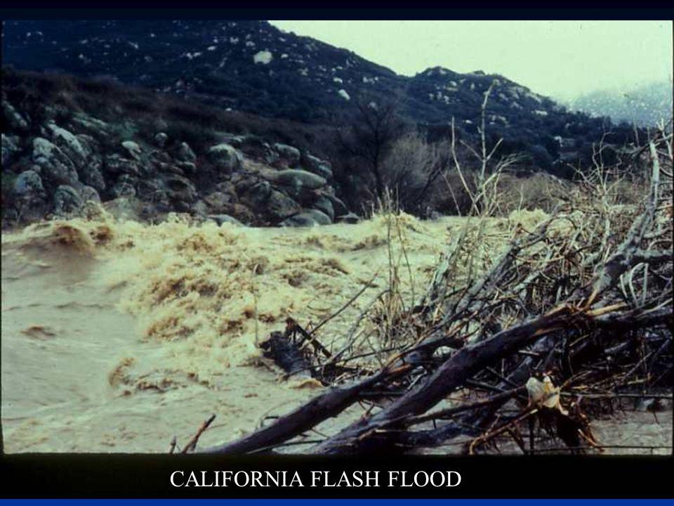 CALIFORNIA FLASH FLOOD