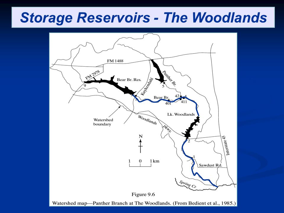 Storage Reservoirs - The Woodlands