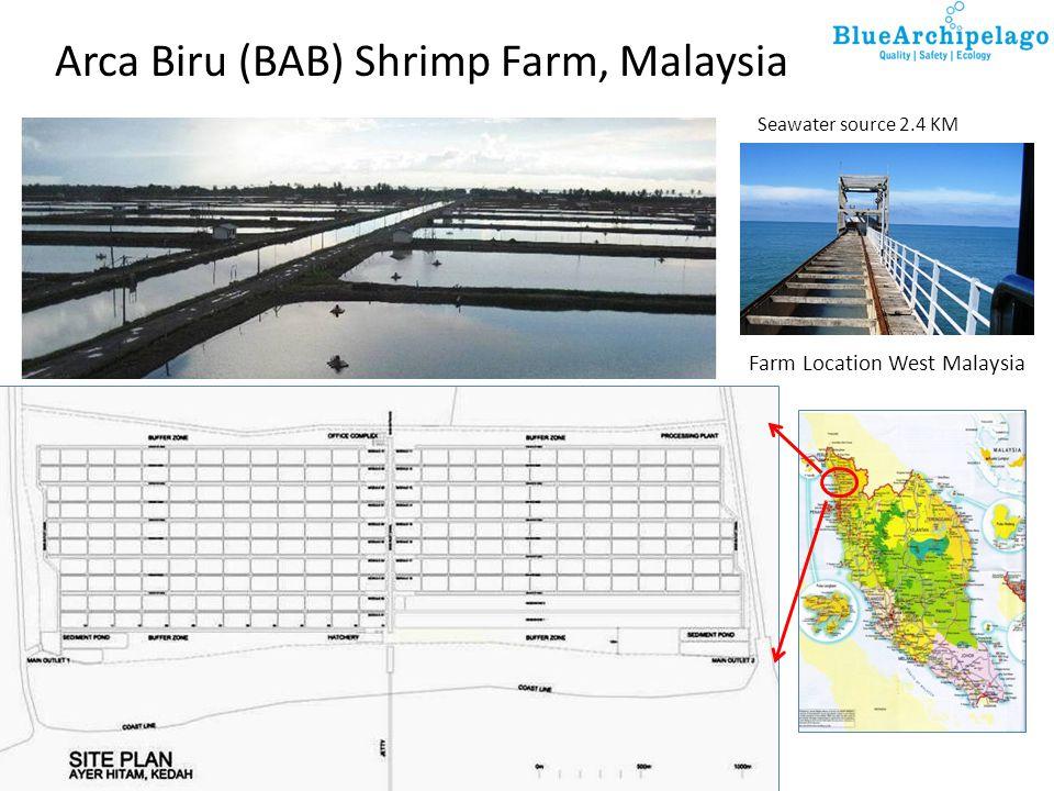 Arca Biru (BAB) Shrimp Farm, Malaysia