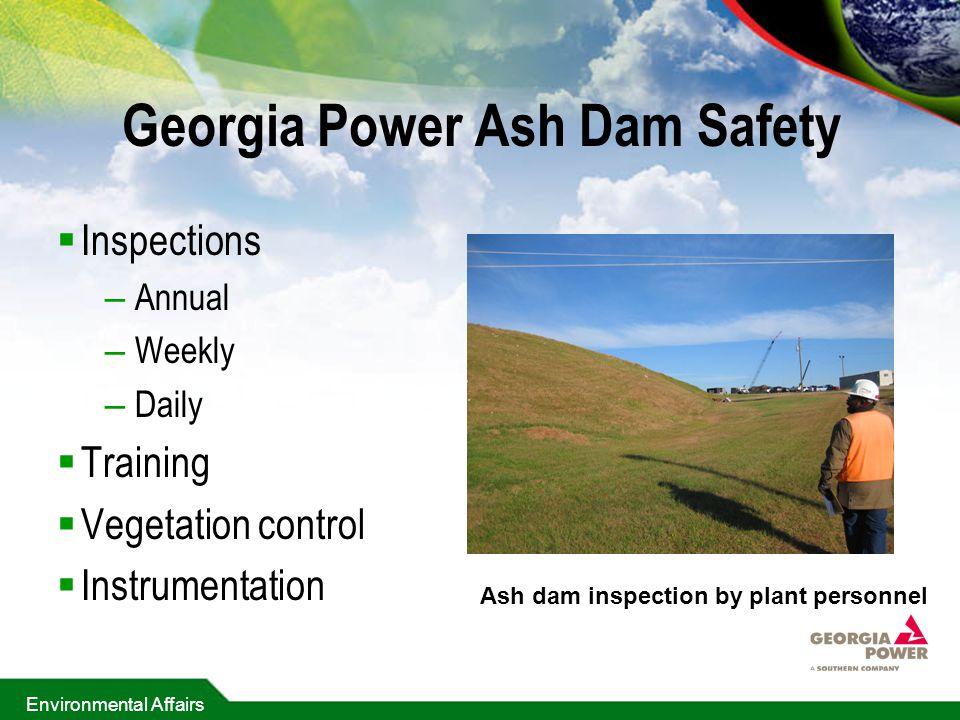 Georgia Power Ash Dam Safety
