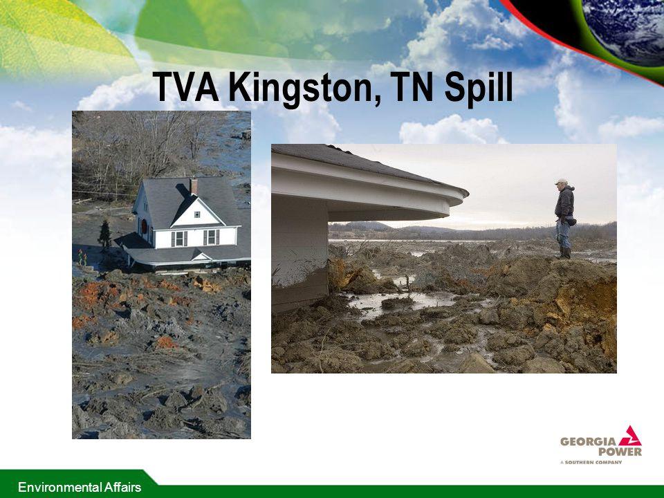 TVA Kingston, TN Spill