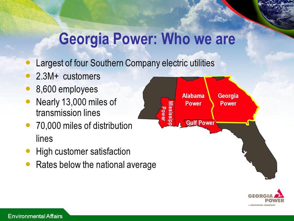 Georgia Power: Who we are