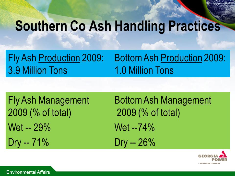 Southern Co Ash Handling Practices