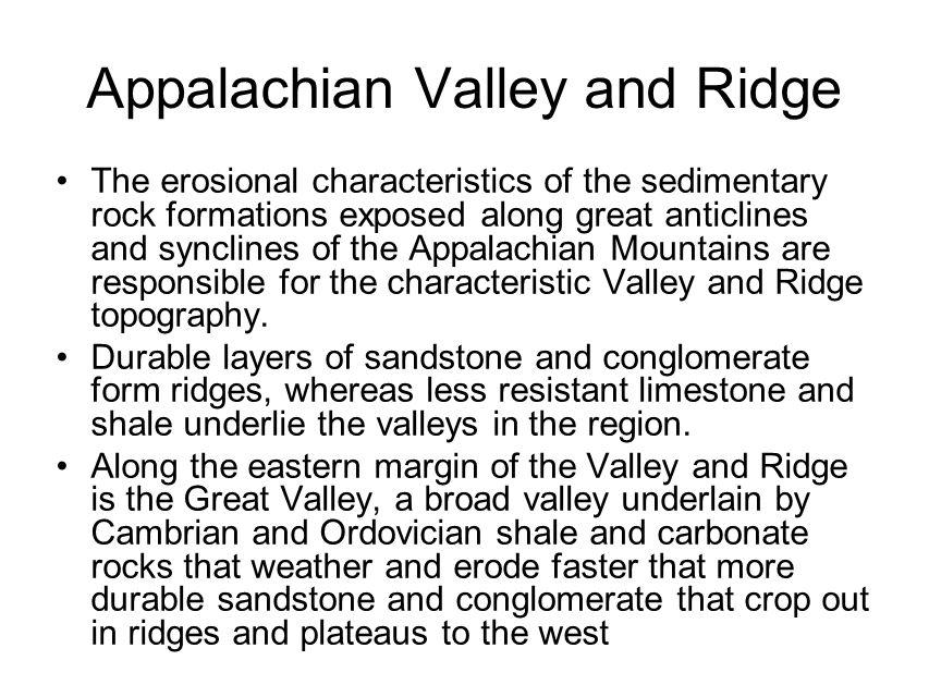 Appalachian Valley and Ridge