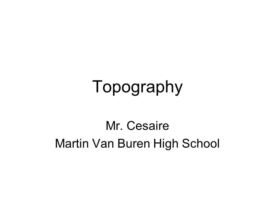 Mr. Cesaire Martin Van Buren High School
