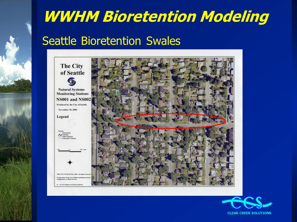 WWHM Bioretention Modeling