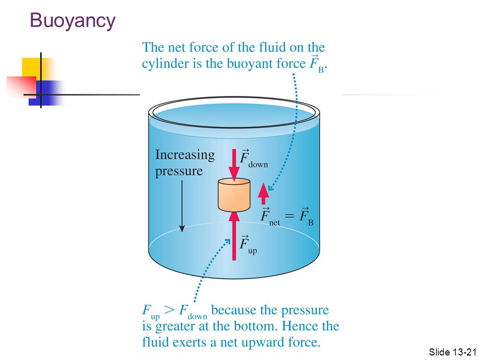 Buoyancy Slide 13-21