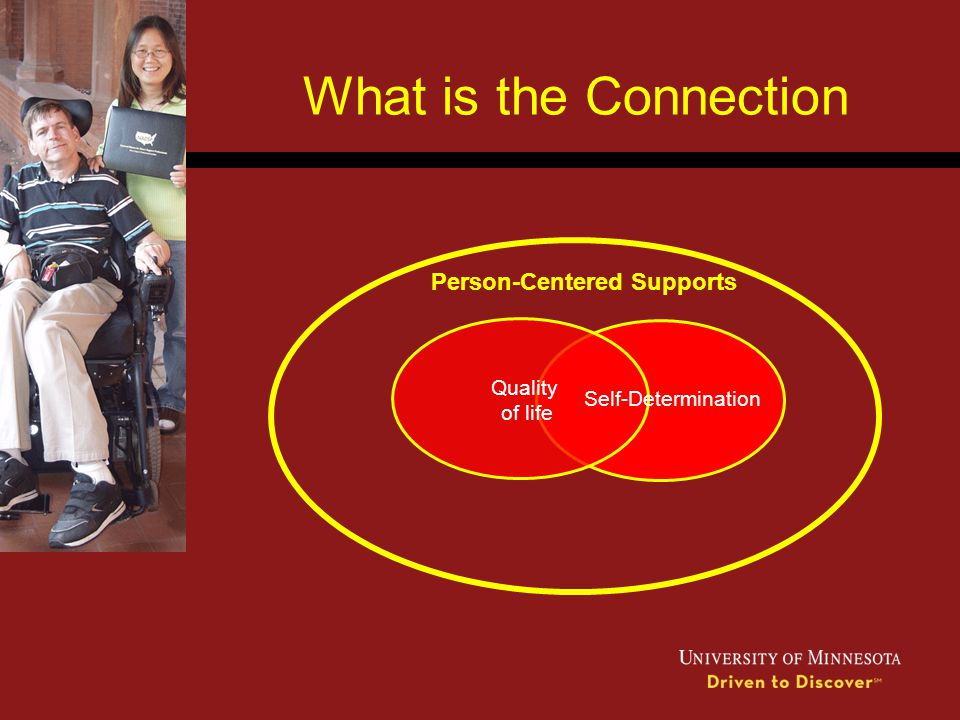What is the Connection Person-Centered Supports Quality of life
