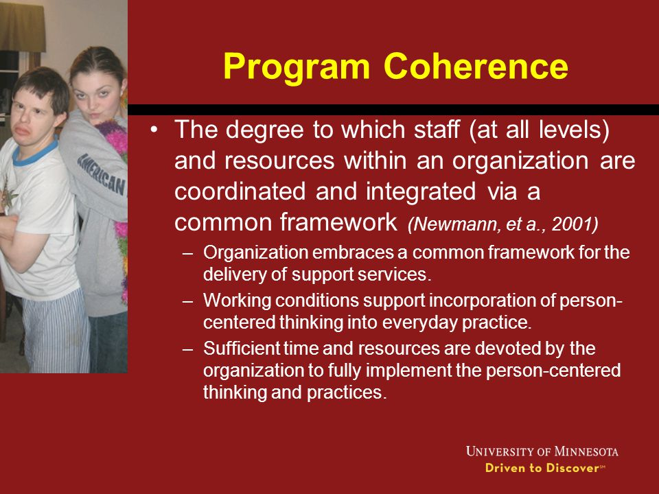 Program Coherence