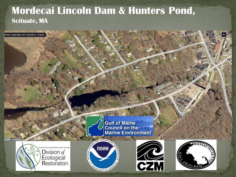 Mordecai Lincoln Dam & Hunters Pond, Scituate, MA