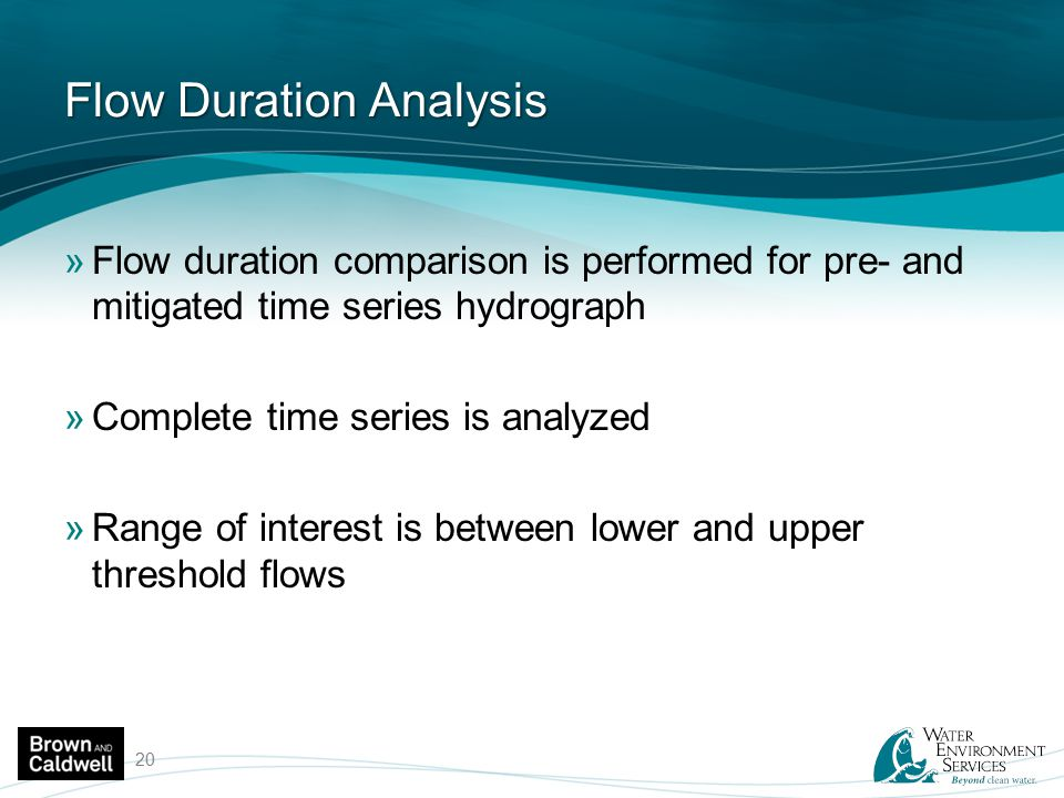 Flow Duration Analysis