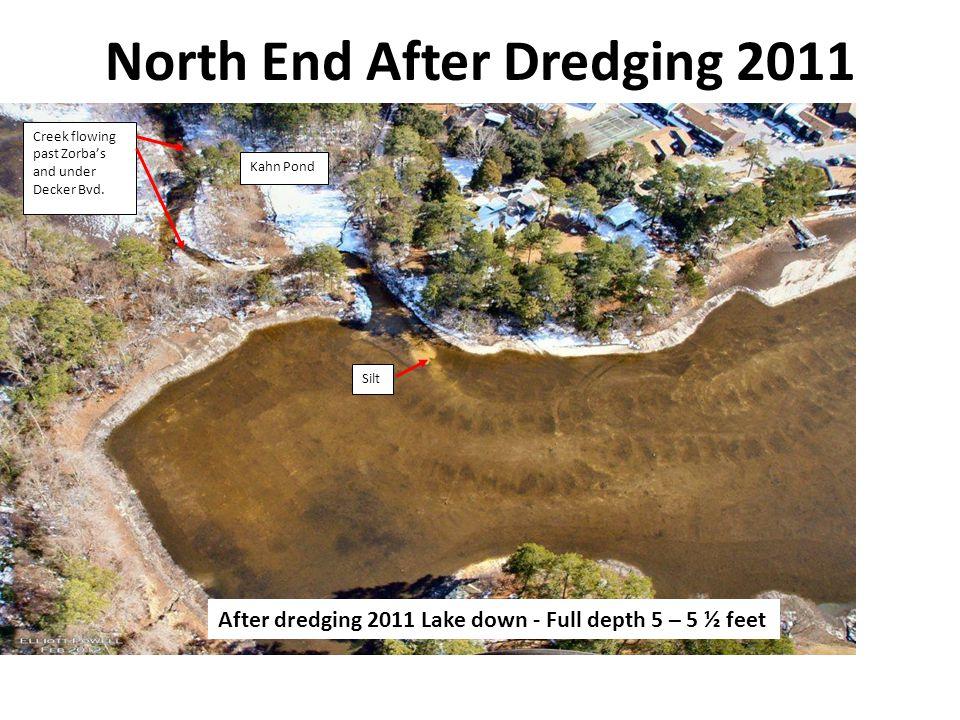 North End After Dredging 2011