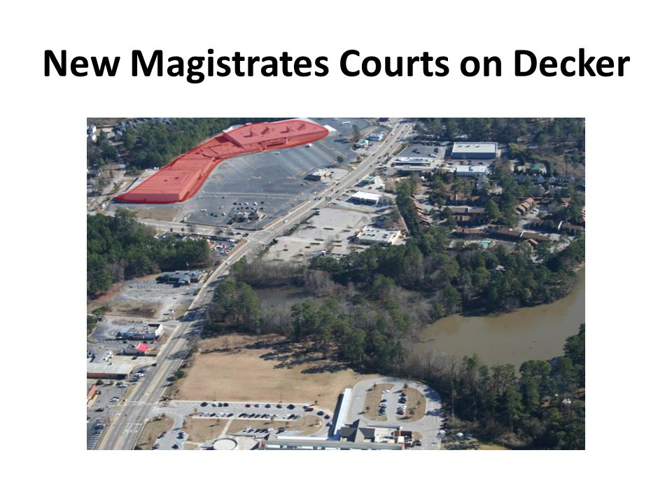New Magistrates Courts on Decker