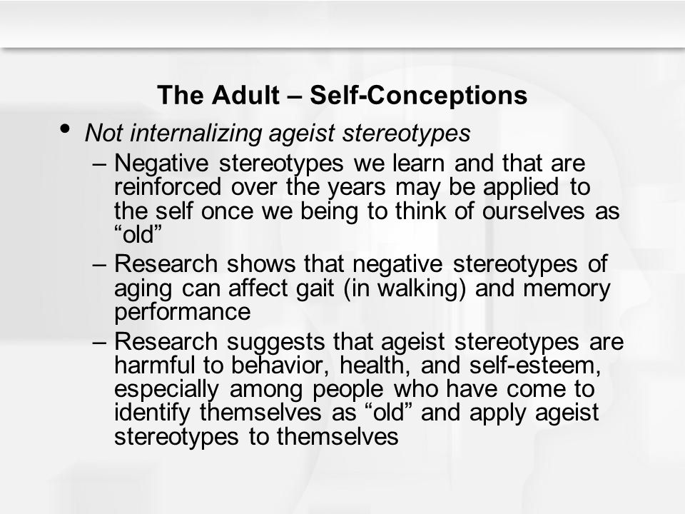 Long-term Effects of Stereotyping