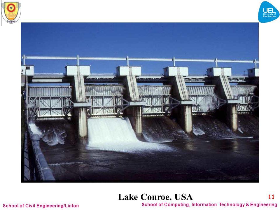 Lake Conroe, USA 11. School of Civil Engineering/Linton.
