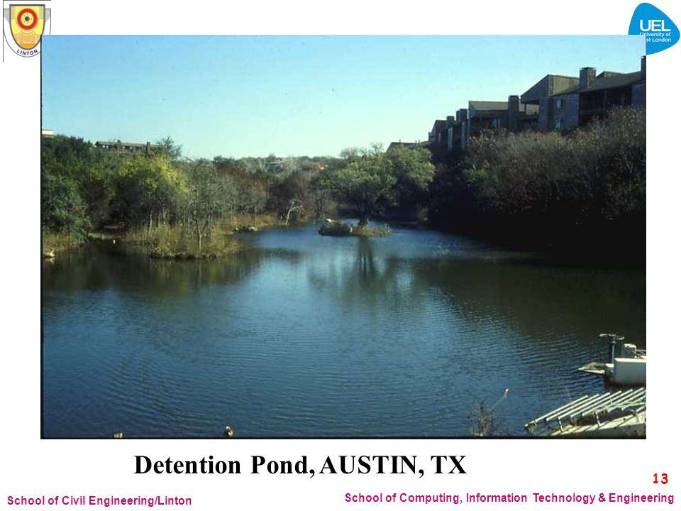 Detention Pond, AUSTIN, TX
