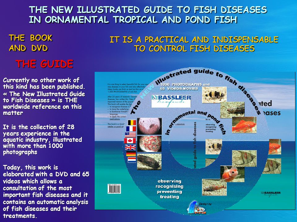 IT IS A PRACTICAL AND INDISPENSABLE TO CONTROL FISH DISEASES