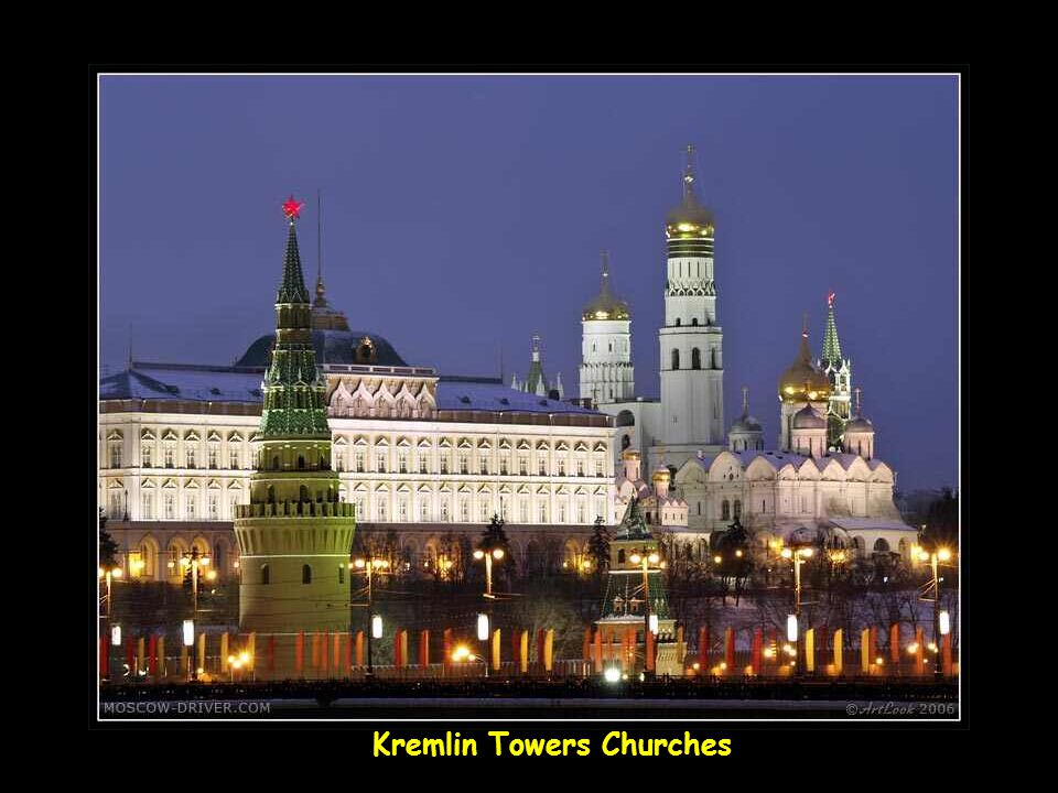 Kremlin Towers Churches