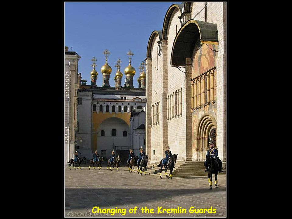 Changing of the Kremlin Guards