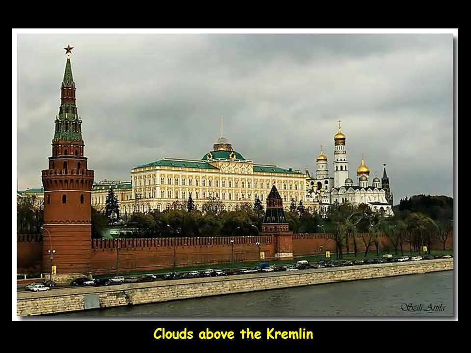 Clouds above the Kremlin