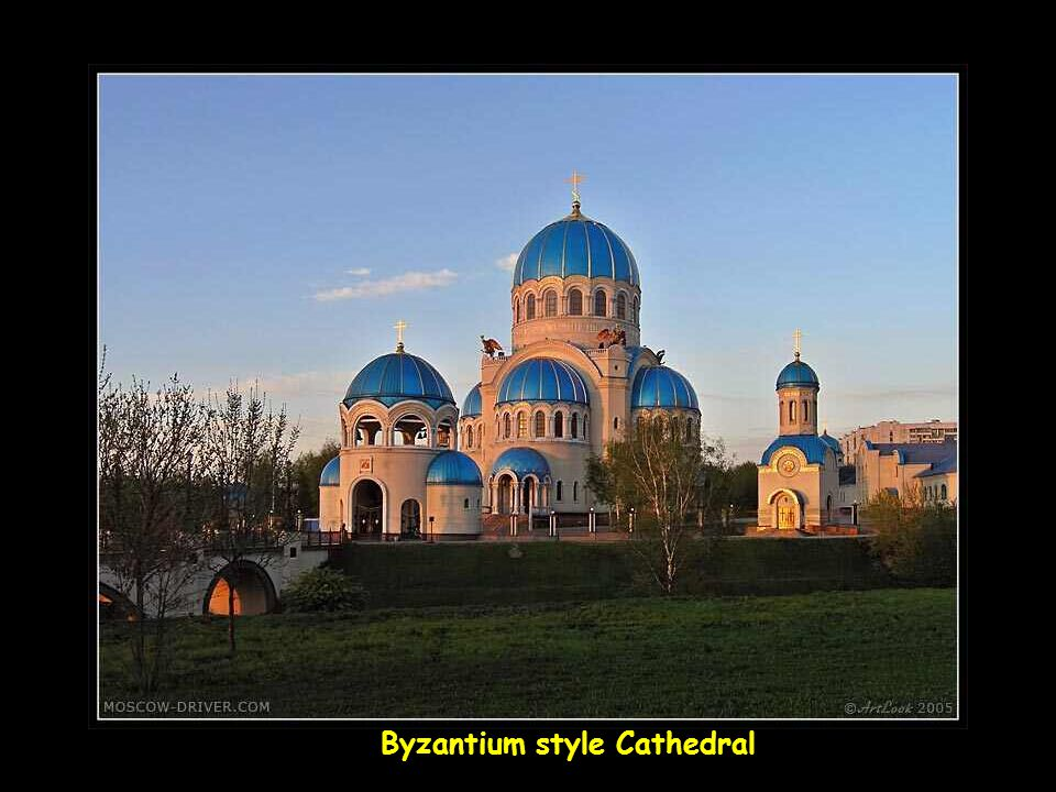 Byzantium style Cathedral