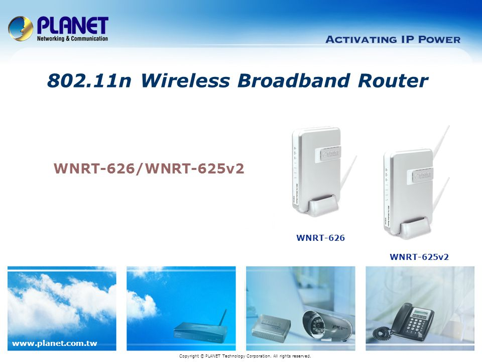 802.11n Wireless Broadband Router