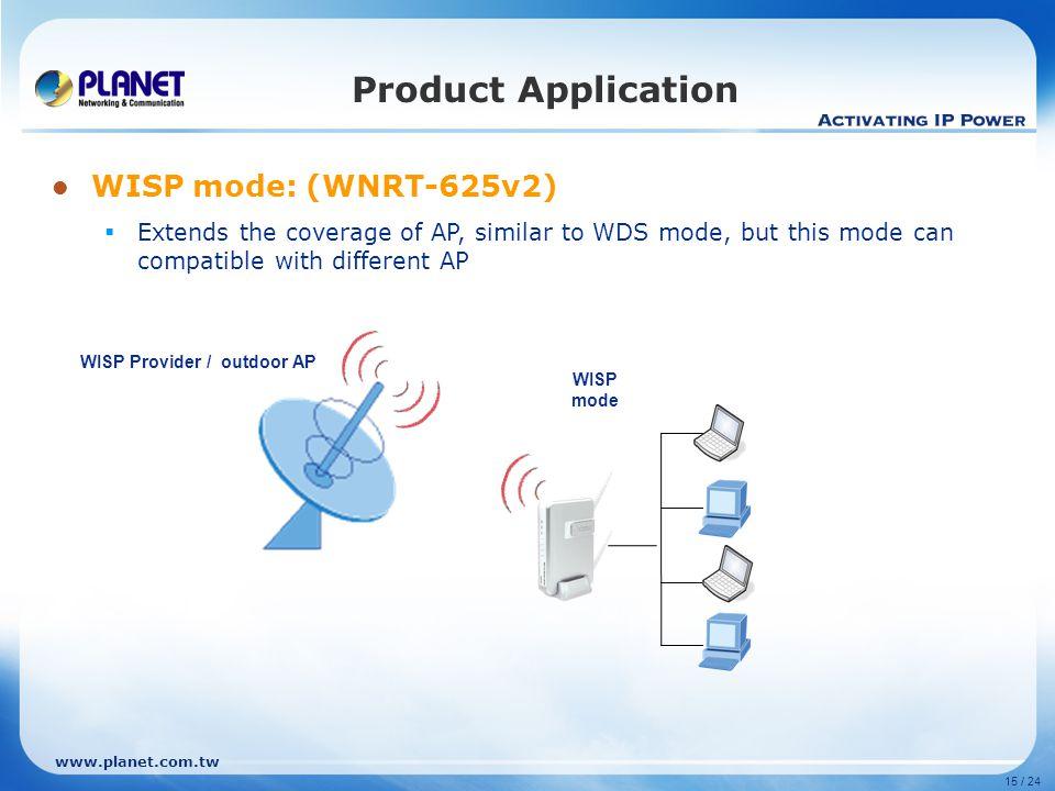 WISP Provider / outdoor AP