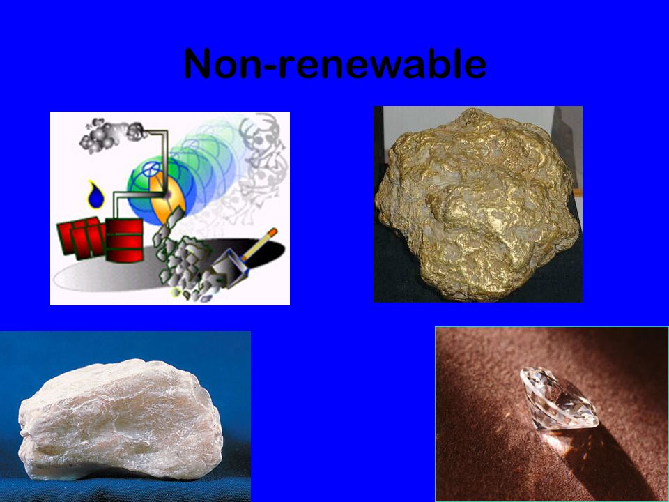 Non-renewable