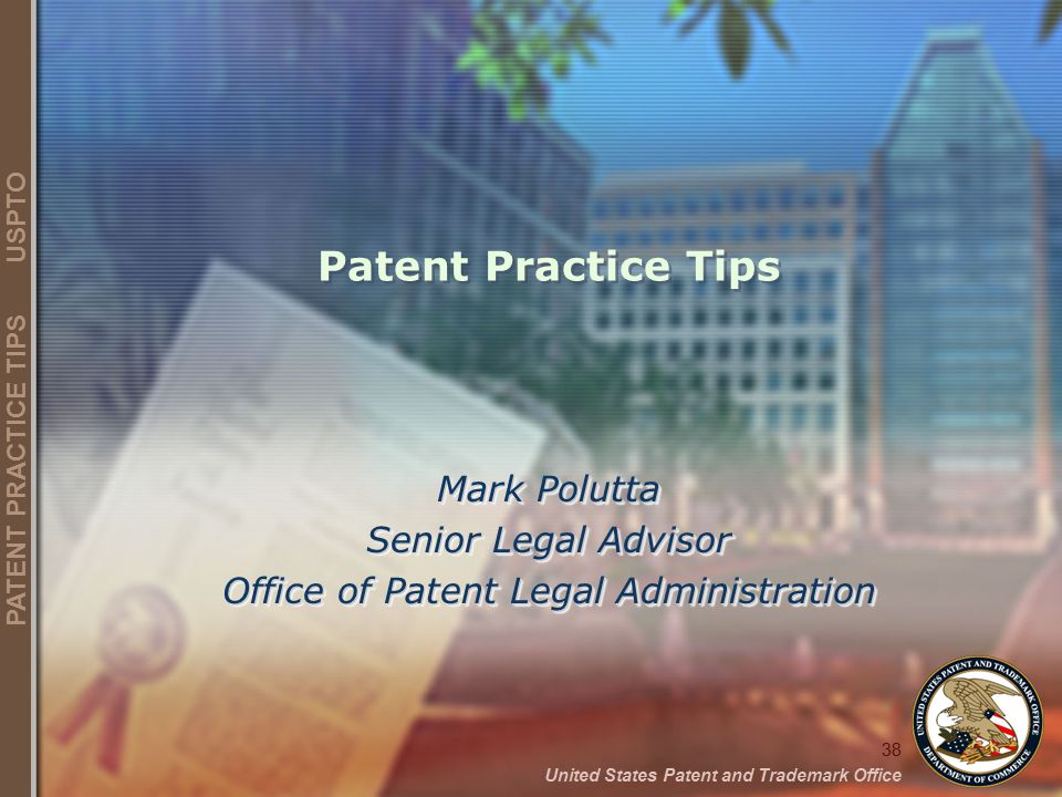 Office of Patent Legal Administration