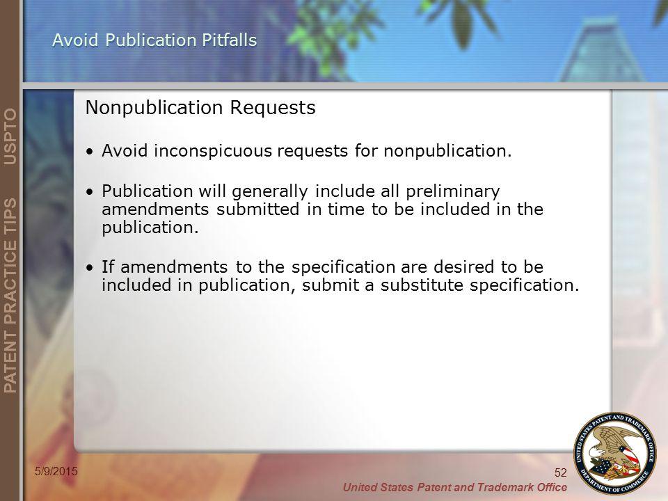 Avoid Publication Pitfalls