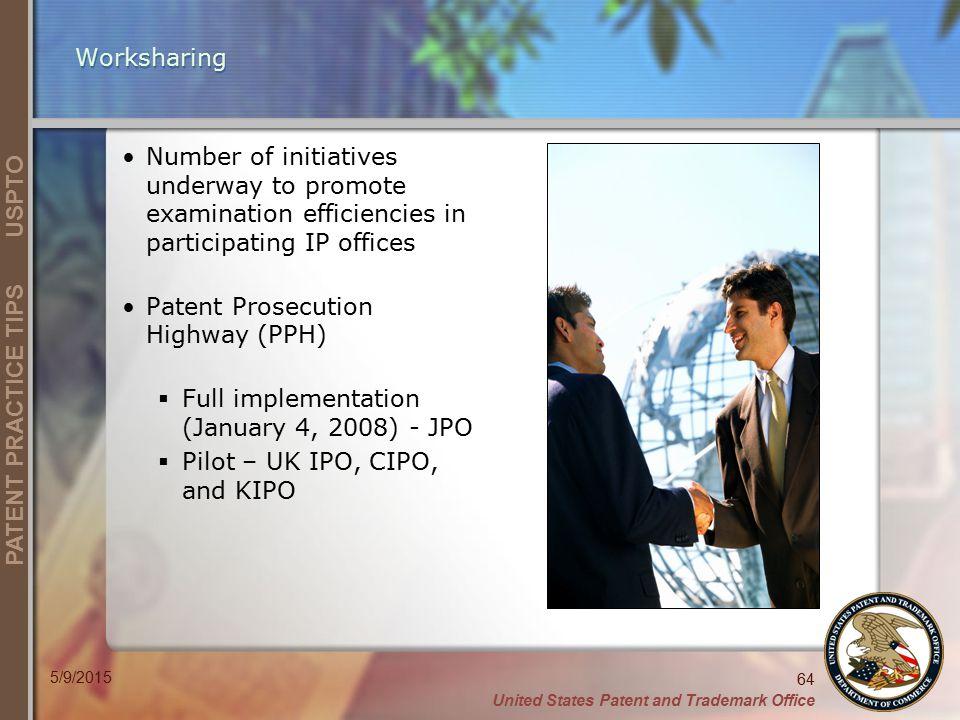 Patent Prosecution Highway (PPH)