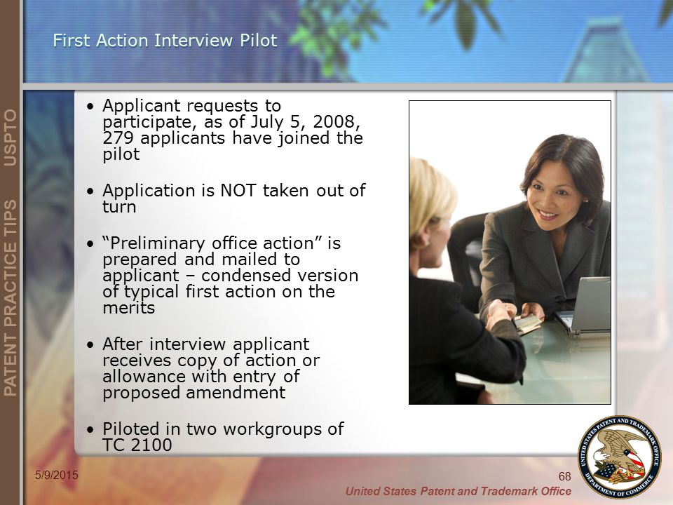 First Action Interview Pilot