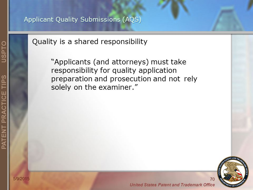 Quality is a shared responsibility