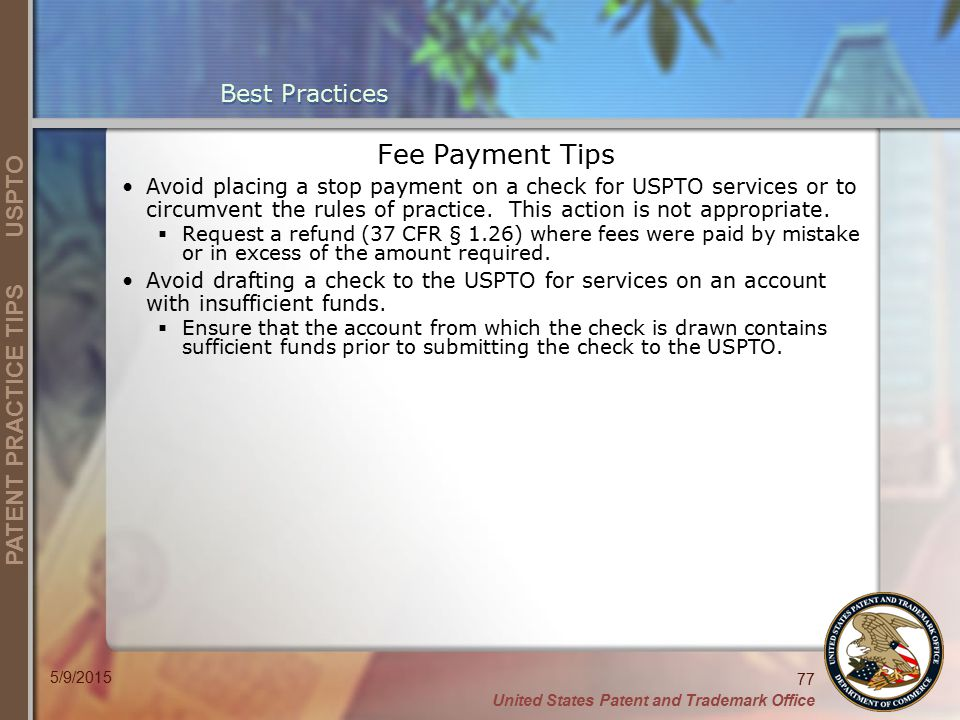 Fee Payment Tips Best Practices