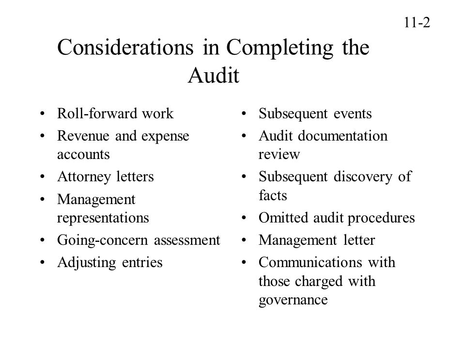 Dual dating of audit report 2