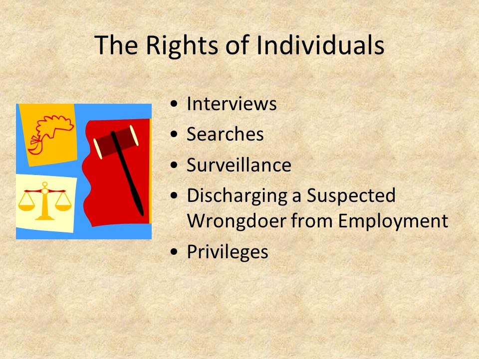 The Rights of Individuals