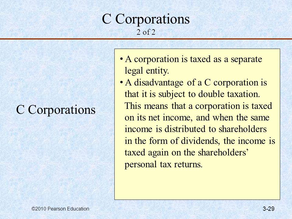 C Corporations 2 of 2 C Corporations