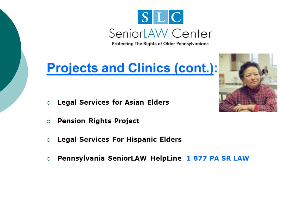 Projects and Clinics (cont.):