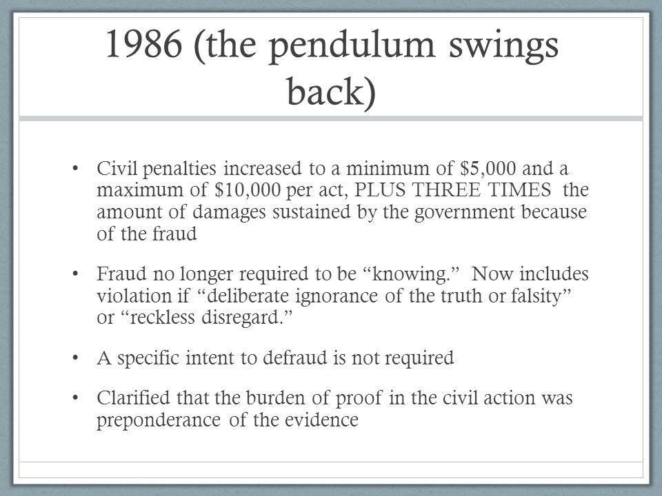 1986 (the pendulum swings back)