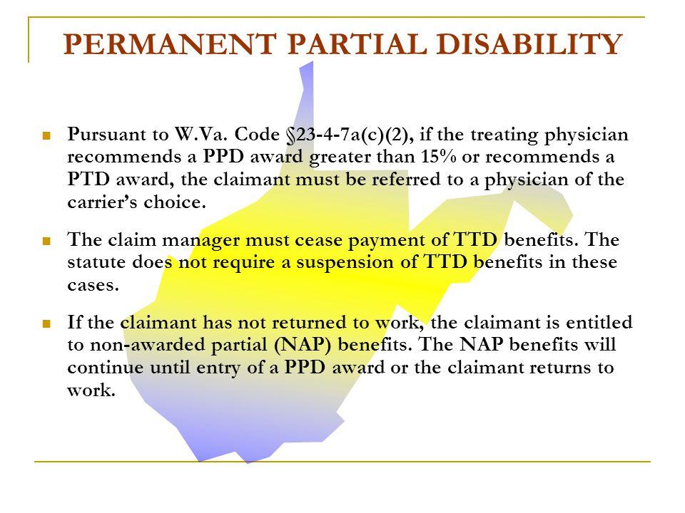 PERMANENT PARTIAL DISABILITY