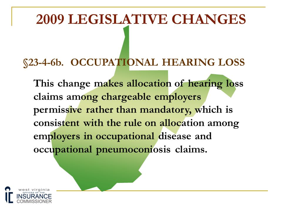§23-4-6b. OCCUPATIONAL HEARING LOSS