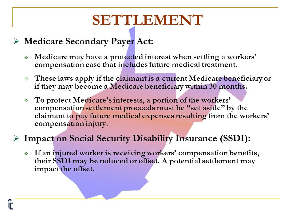 SETTLEMENT Medicare Secondary Payer Act: