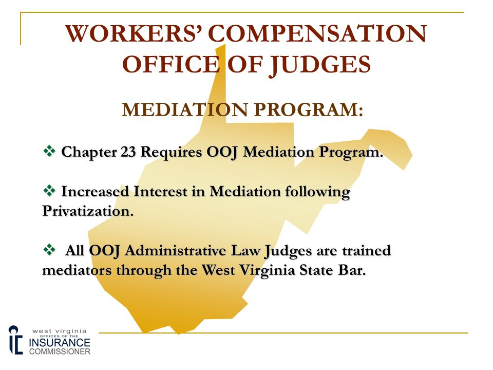 WORKERS' COMPENSATION OFFICE OF JUDGES