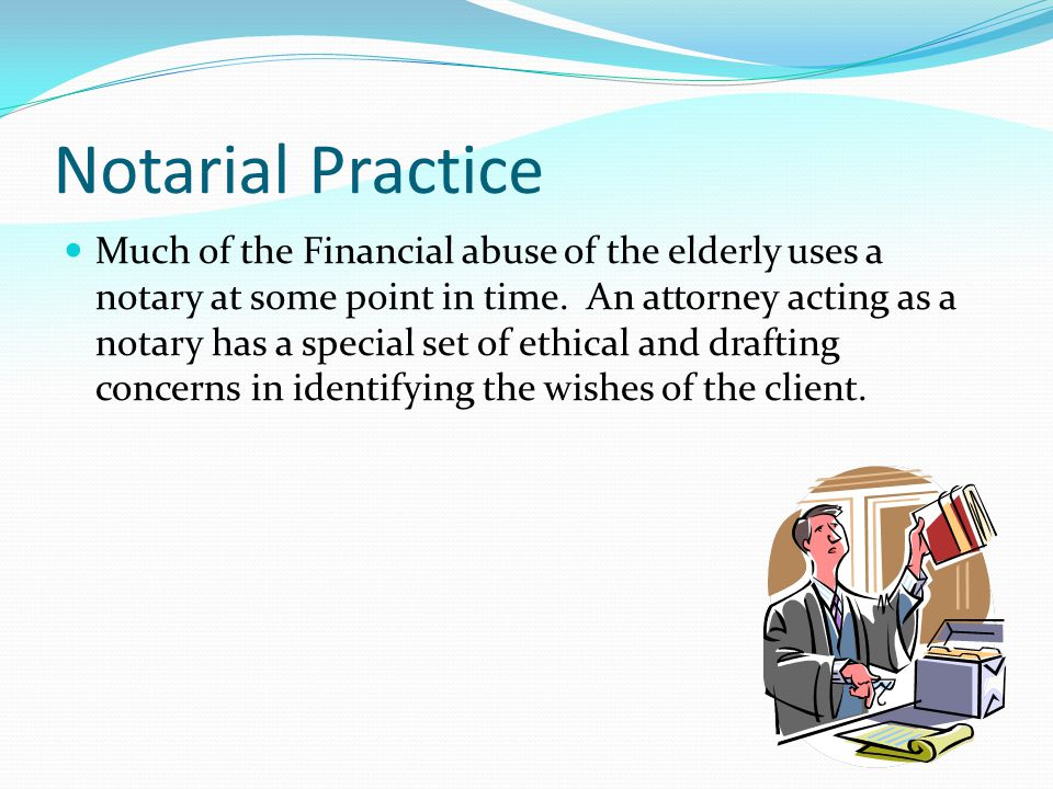 Notarial Practice