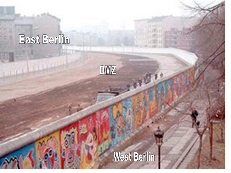 East Berlin DMZ West Berlin